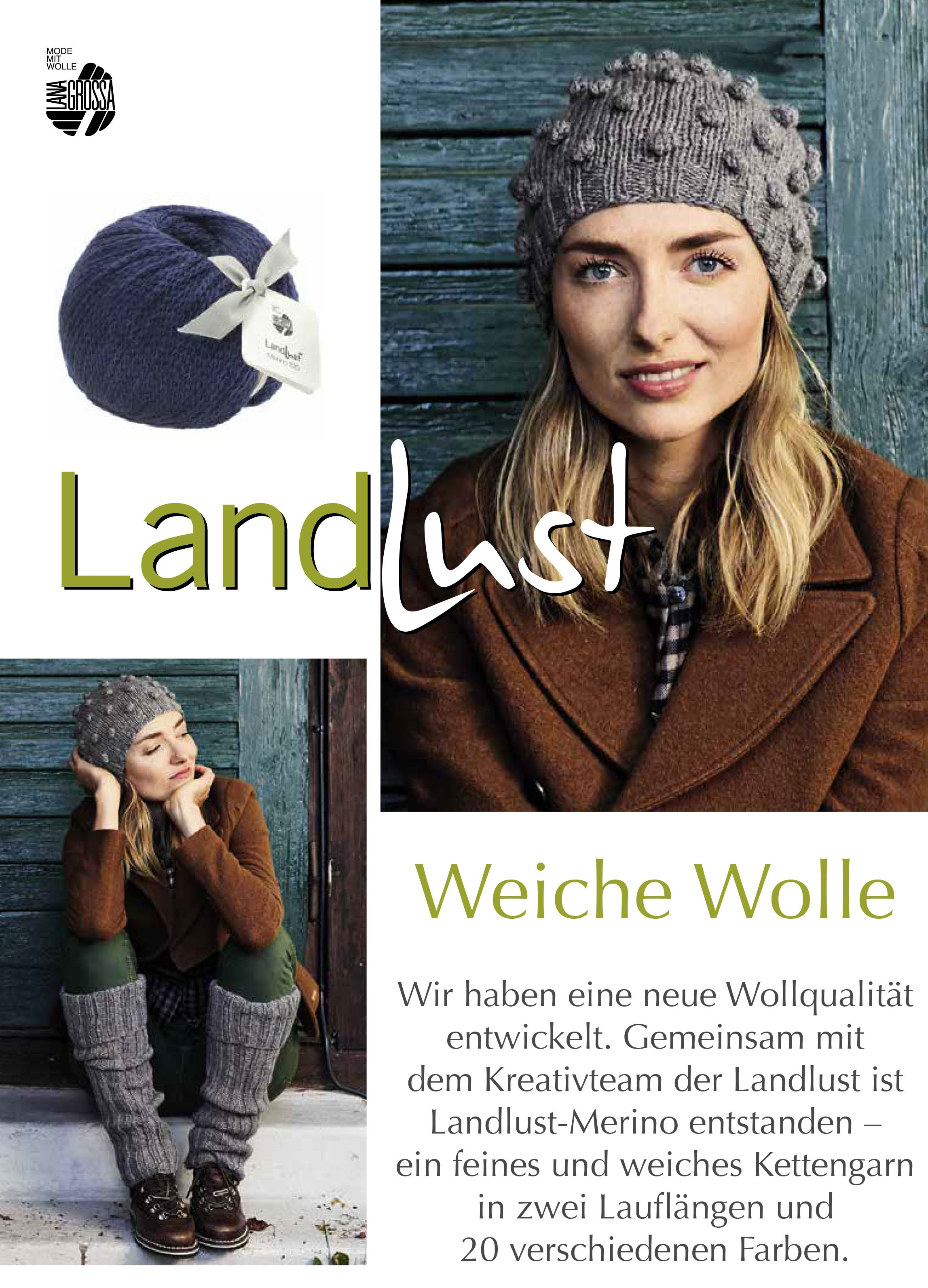 Lana Grossa LANDLUST Flyer 2 - German Edition