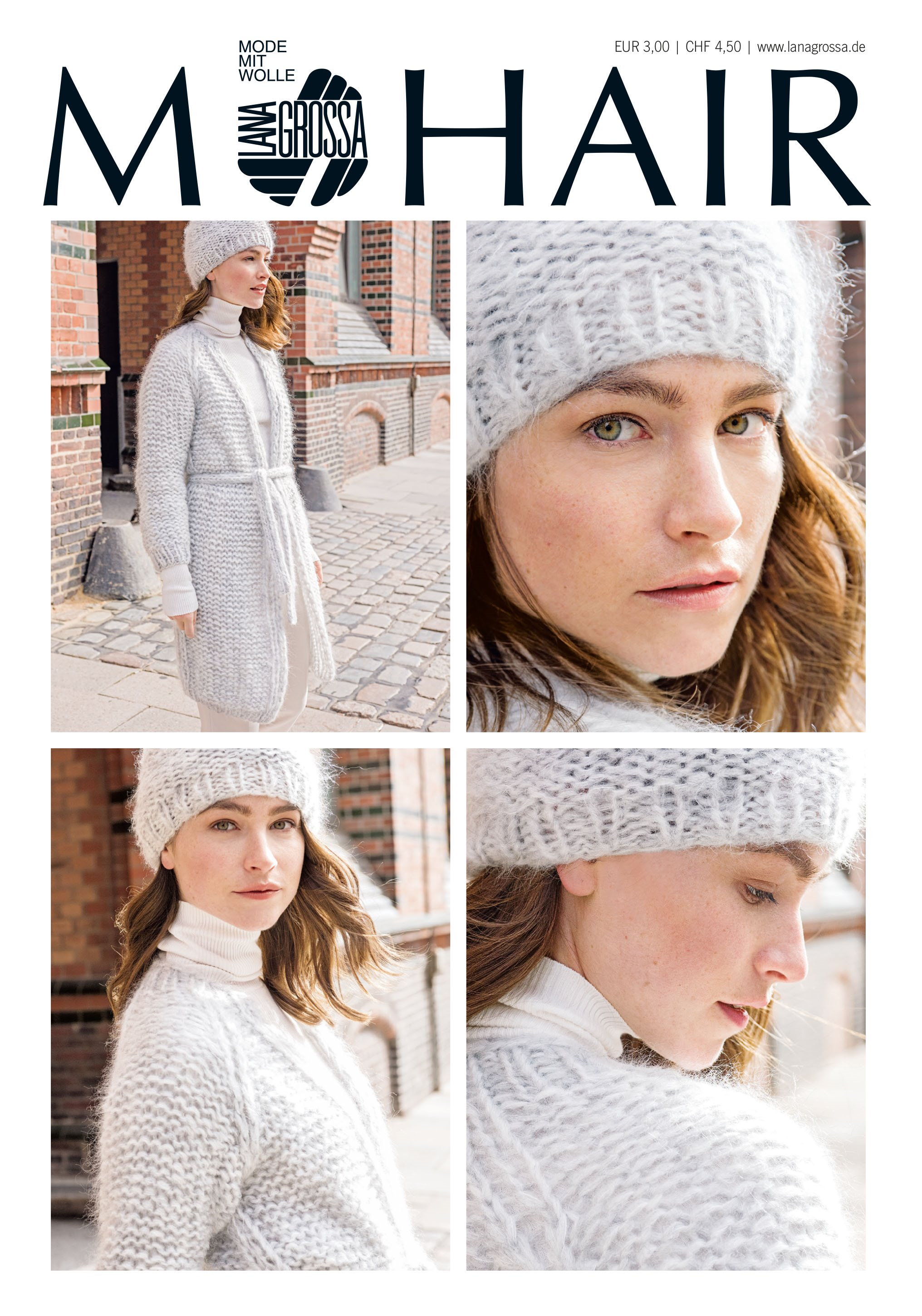 Lana Grossa MOHAIR Booklet - Magazin (DE) + Instructions (EN)
