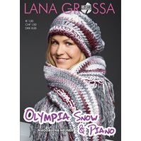 Lana Grossa OLYMPIA Folder-SNOW & PIANO-German Edition
