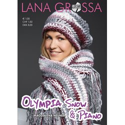 Lana Grossa OLYMPIA Folder-SNOW & PIANO-German Edition