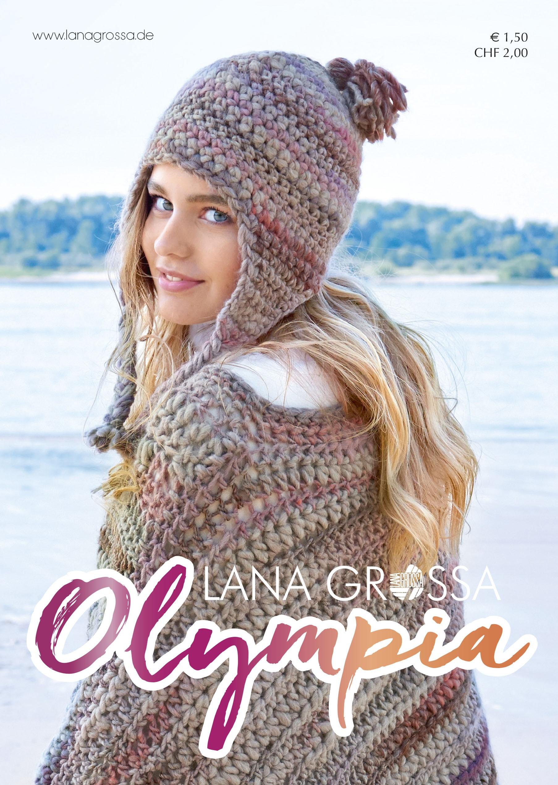 Lana Grossa OLYMPIA Flyer 2016 - German Edition