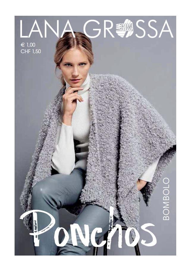 Lana Grossa PONCHOS - German Edition