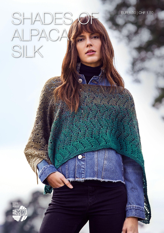 Lana Grossa SHADES OF ALPACA SILK Flyer - Knitting instructions (EN)