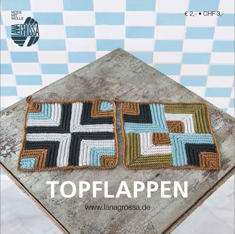 Lana Grossa TOPFLAPPEN - German Edition (Booklet)