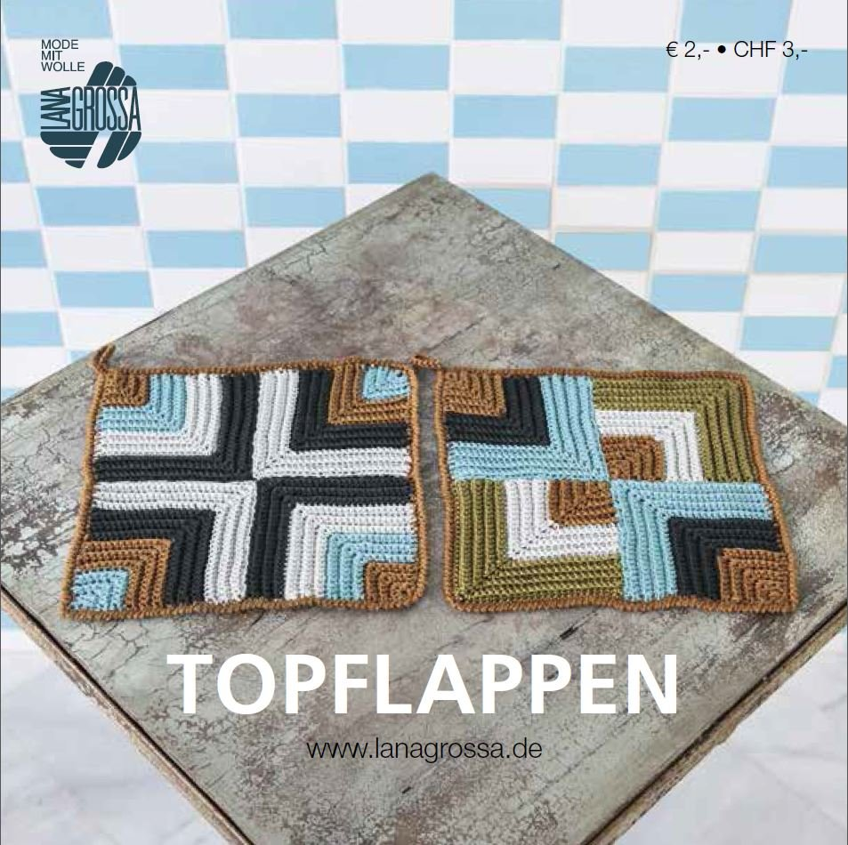 Lana Grossa TOPFLAPPEN - German Edition (Booklet)