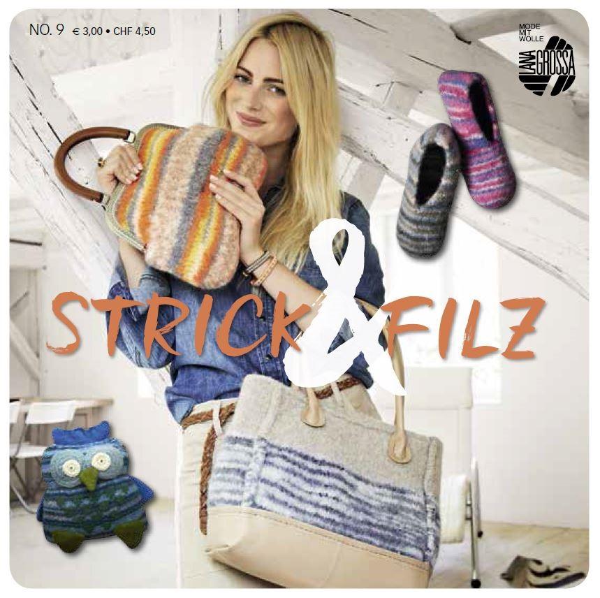 Lana Grossa STRICK & FILZ No. 9 - German Edition