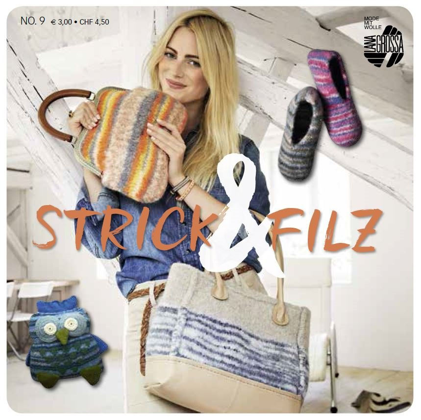 Lana Grossa STRICK & FILZ No. 9 - German Edition