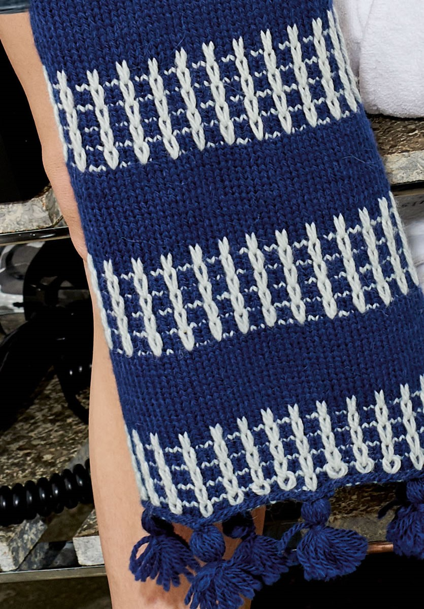 Lana Grossa SCARF Cool Wool Alpaca