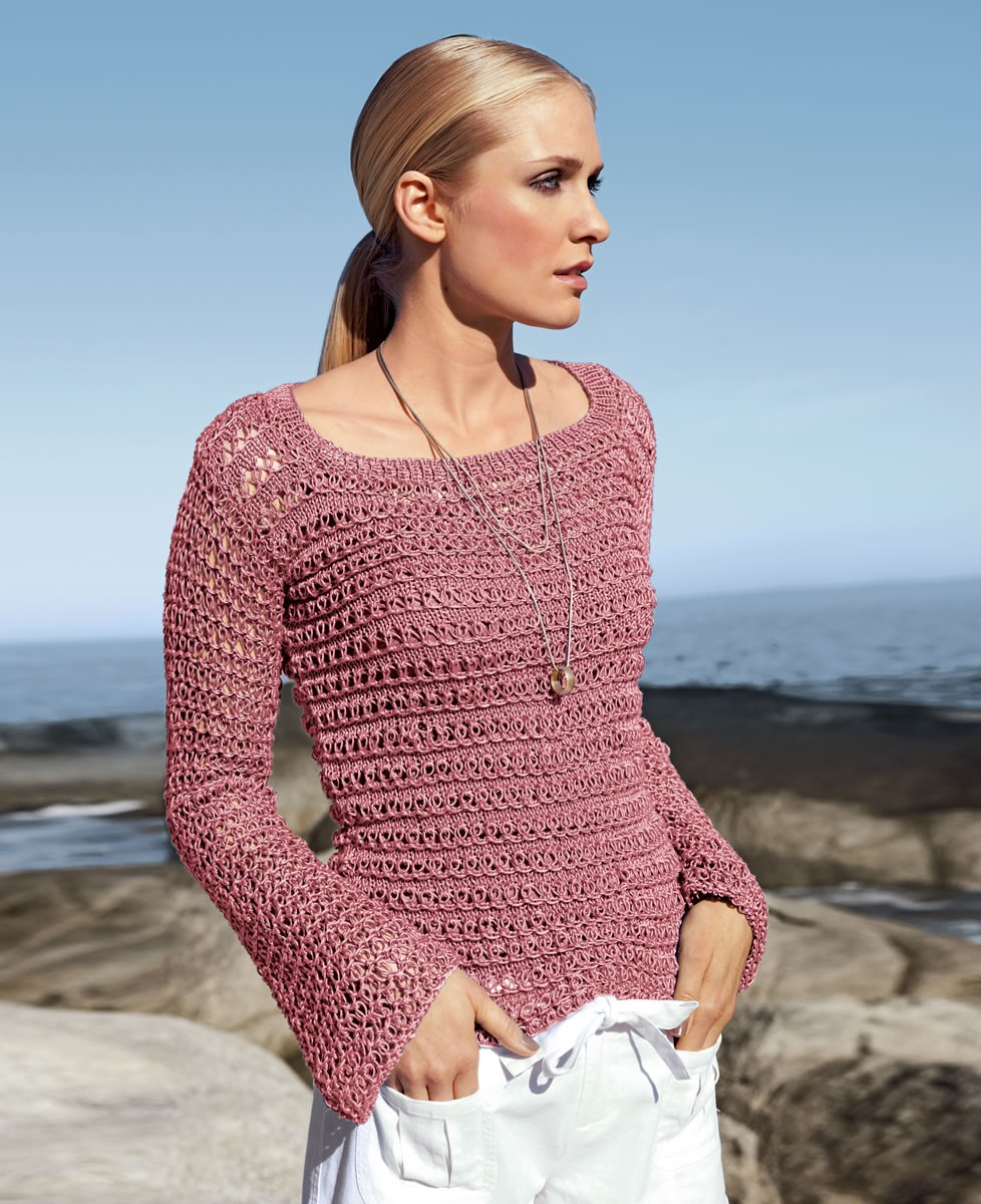 Lana Grossa SWEATER IN LOOP PATTERN Classico