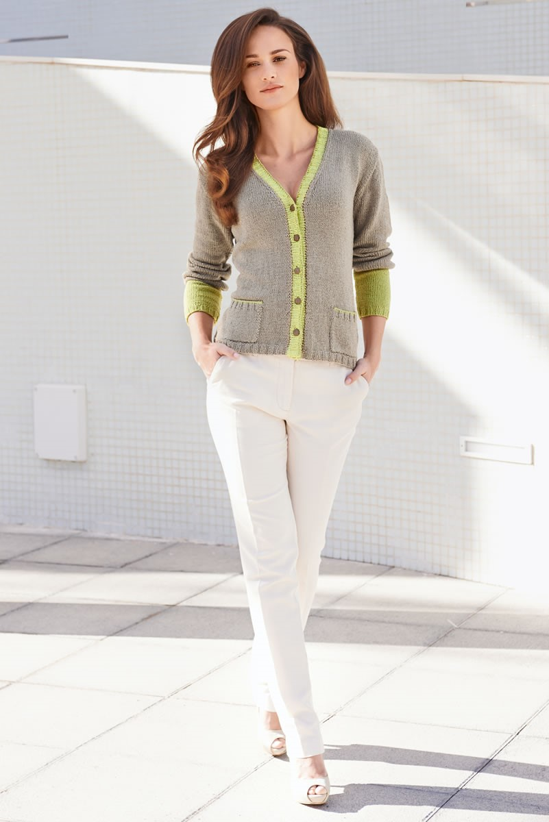 Lana Grossa COLORBLOCK JACKET Linarte