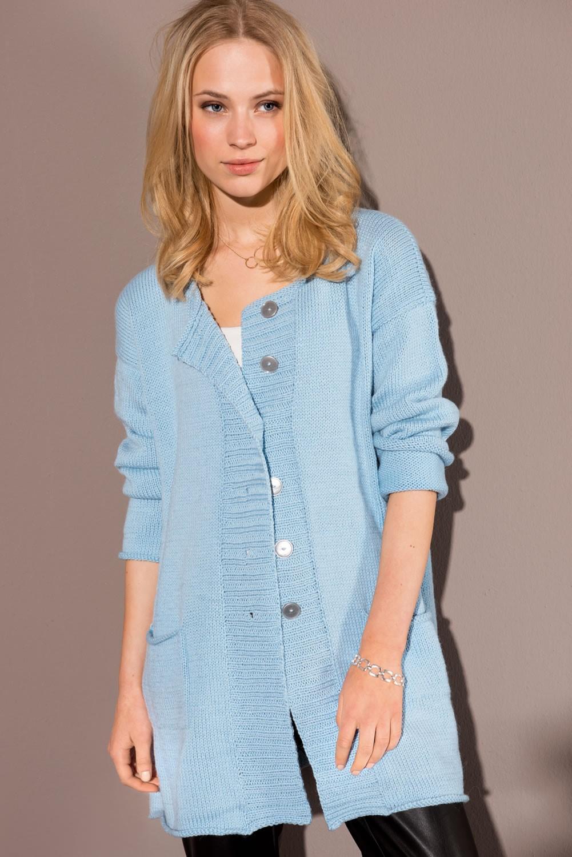 Lana Grossa JACKET in Cool Wool Big