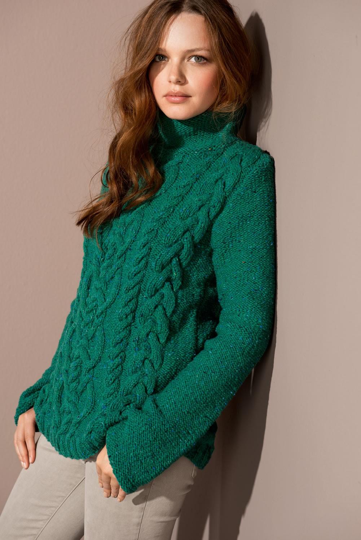Lana Grossa PULLOVER in Royal Tweed