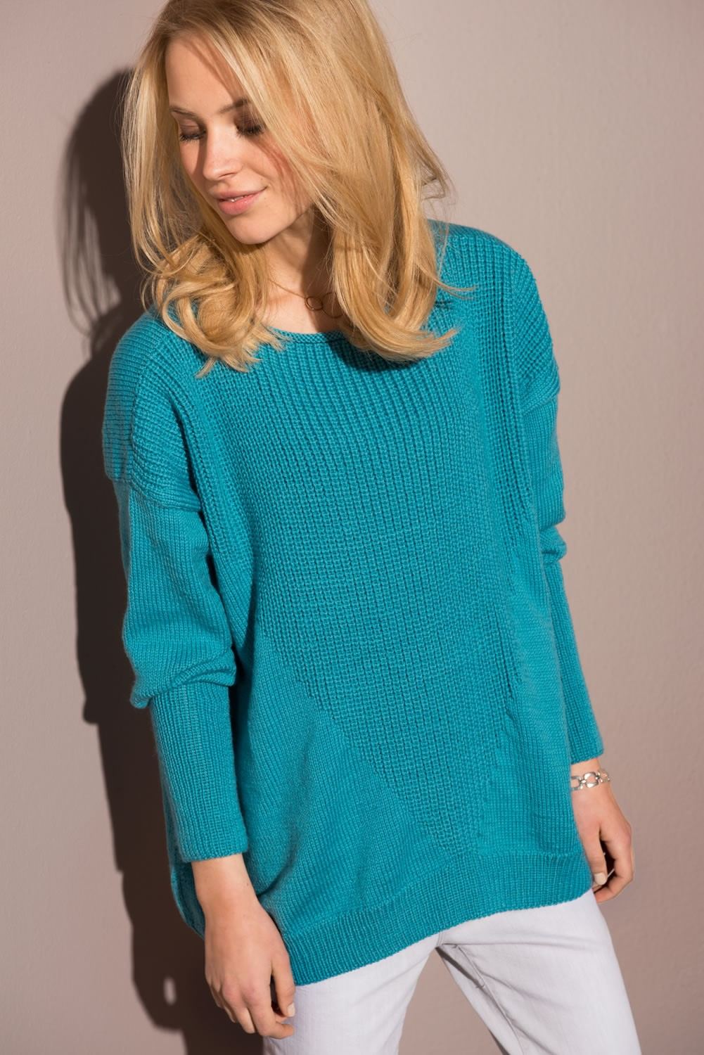 Lana Grossa PULLOVER in Cool Wool Cashmere