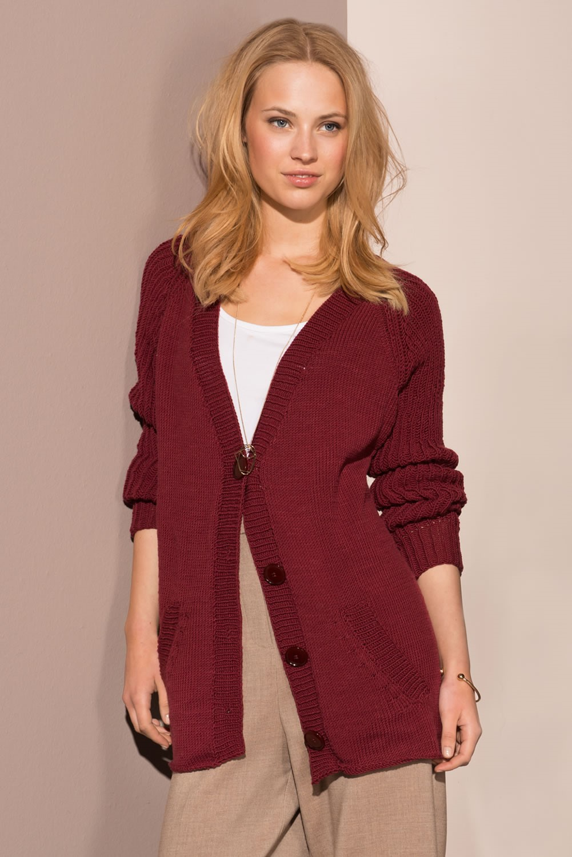 Lana Grossa JACKET in Cool Wool