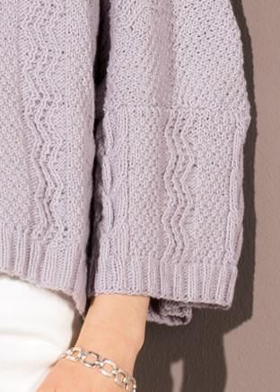 Lana Grossa PULLOVER in Solo Cashmere 110
