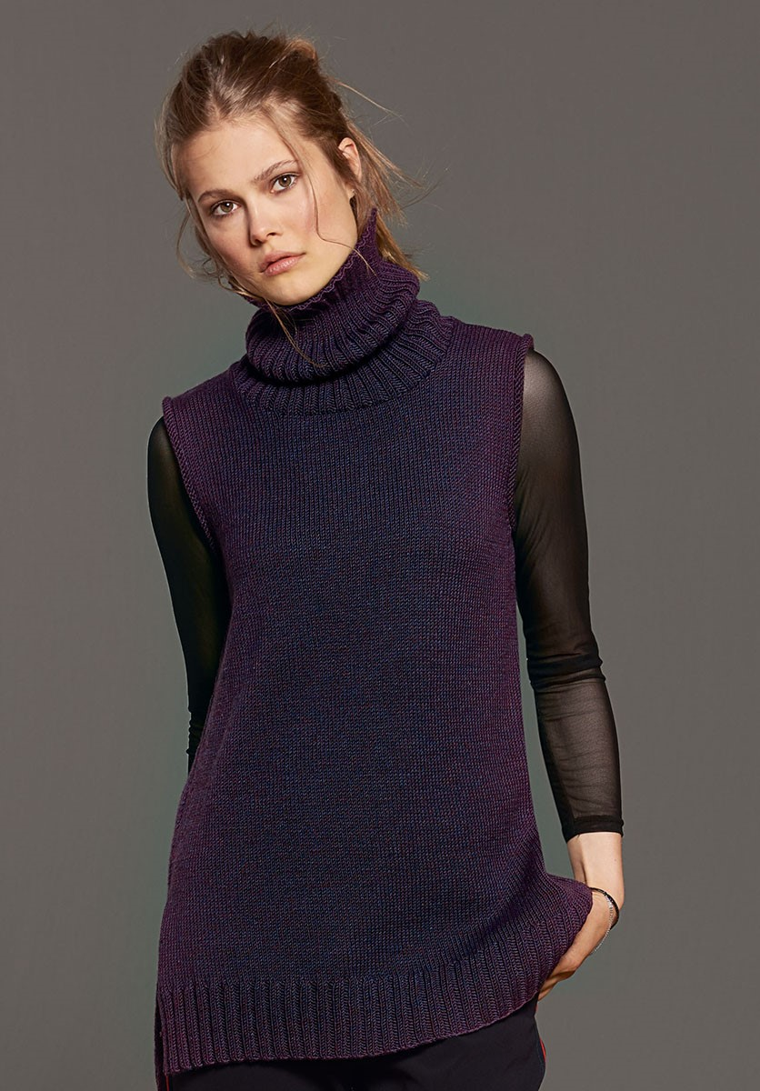Lana Grossa TUNIC Cool Wool Melange