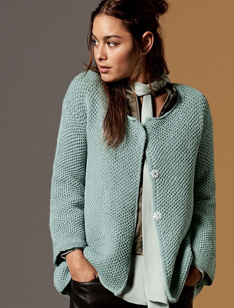 Lana Grossa JACKET Cool Wool Melange