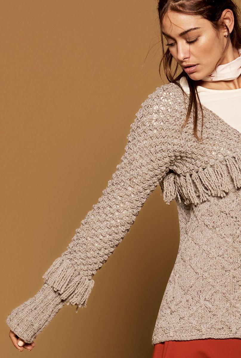 Lana Grossa JACKET Royal Tweed