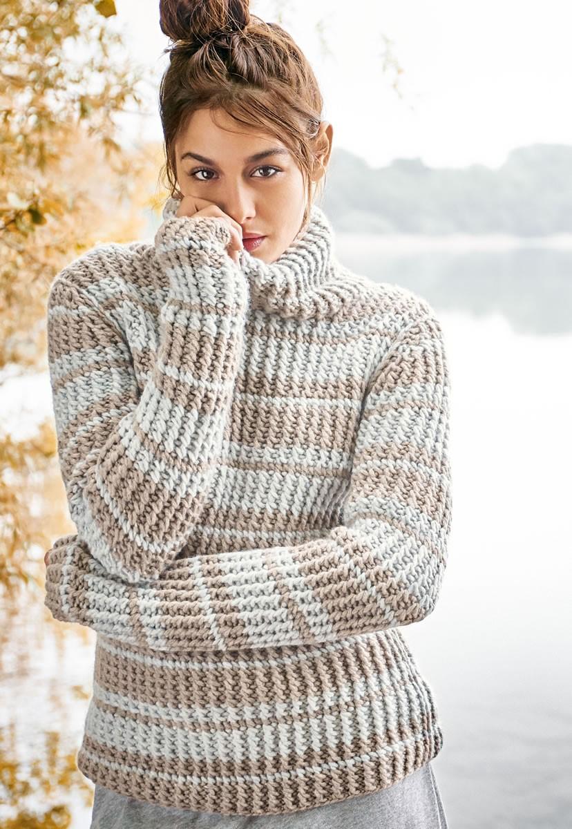 Lana Grossa PULLOVER Alta Moda Cashmere 16