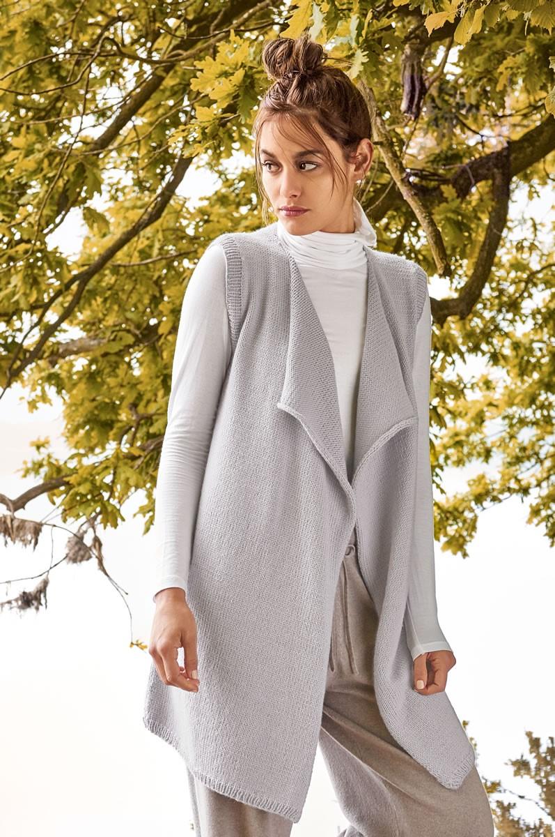 Lana Grossa VEST Cool Wool Alpaca