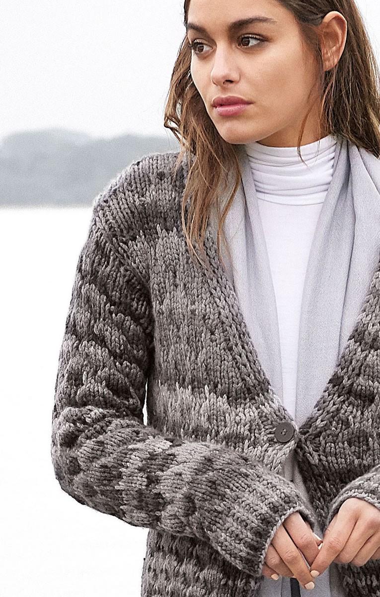 Lana Grossa JACKET Alta Moda Cashmere 16 Degradè