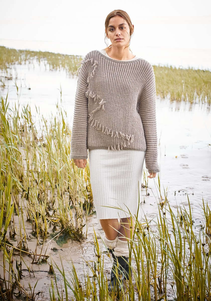 Lana Grossa PULLOVER Cool Wool Alpaca/Splendid