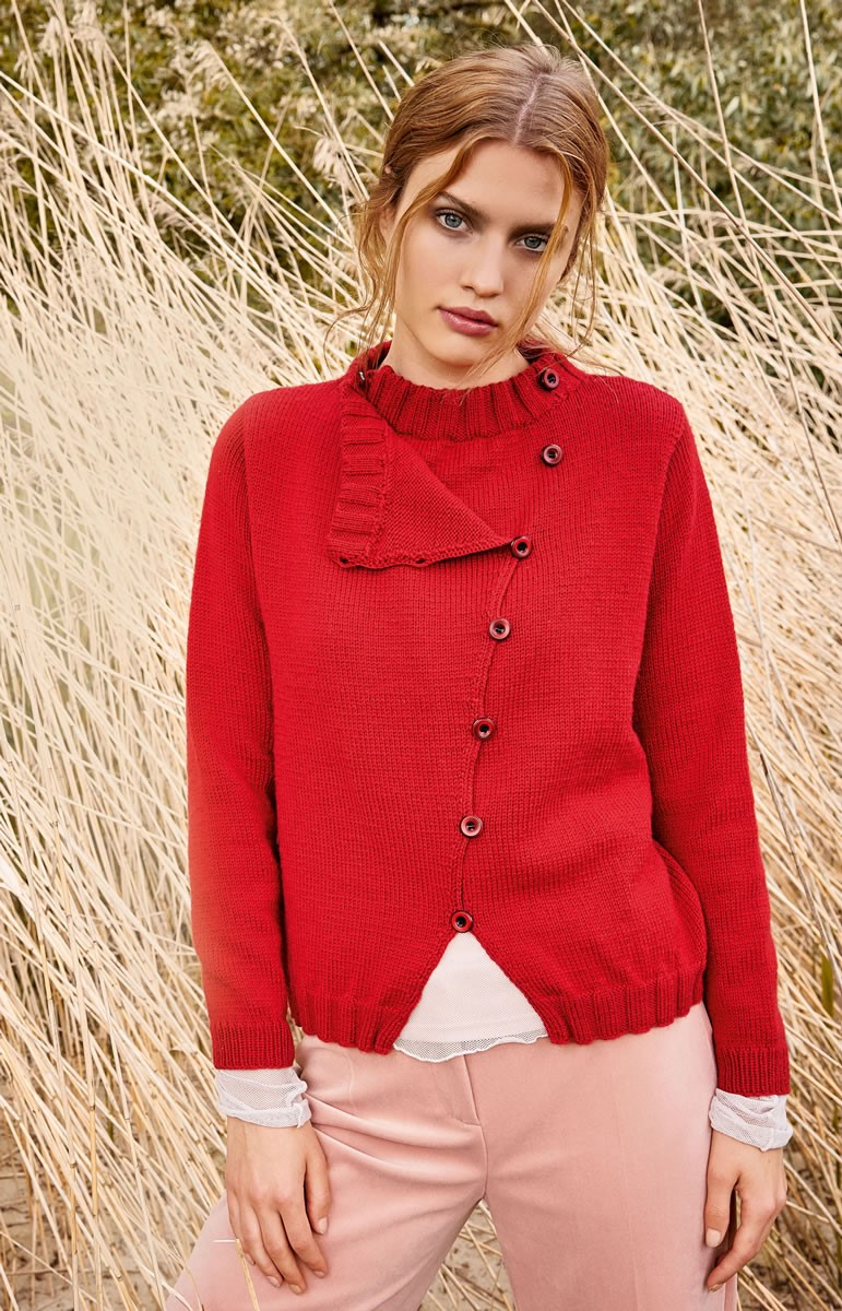 Lana Grossa JACKET Cool Wool Cashmere