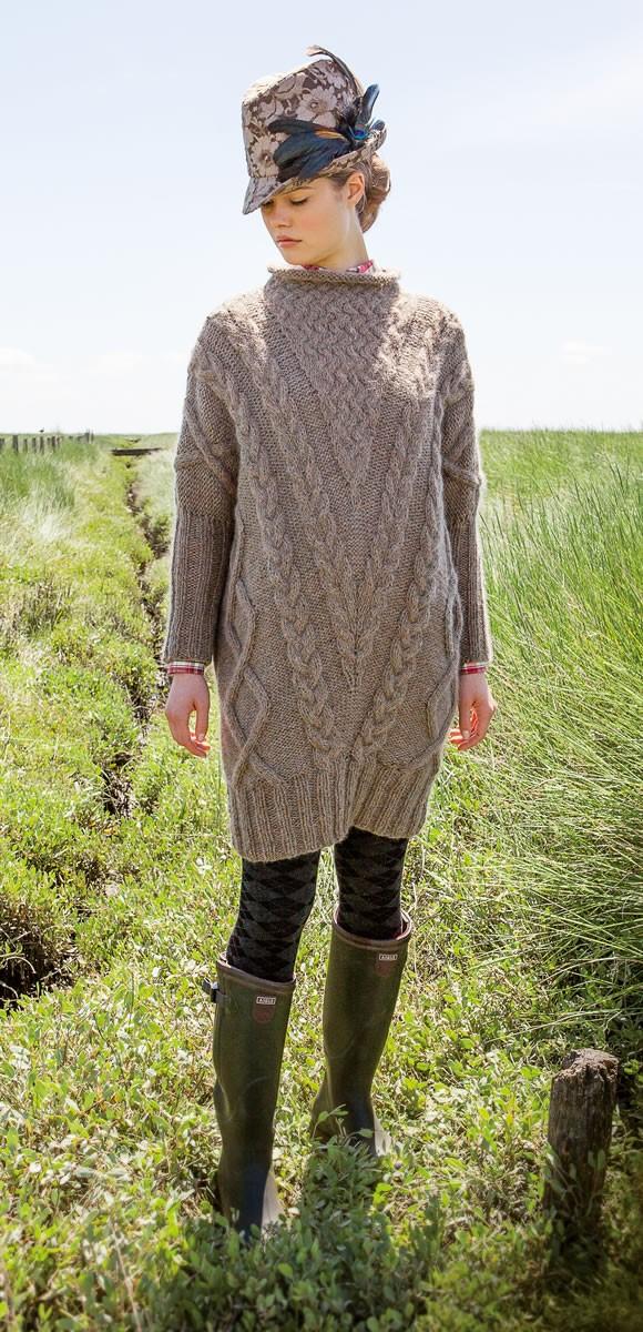 Lana Grossa DRESS/TUNIC Ascot/Splendid