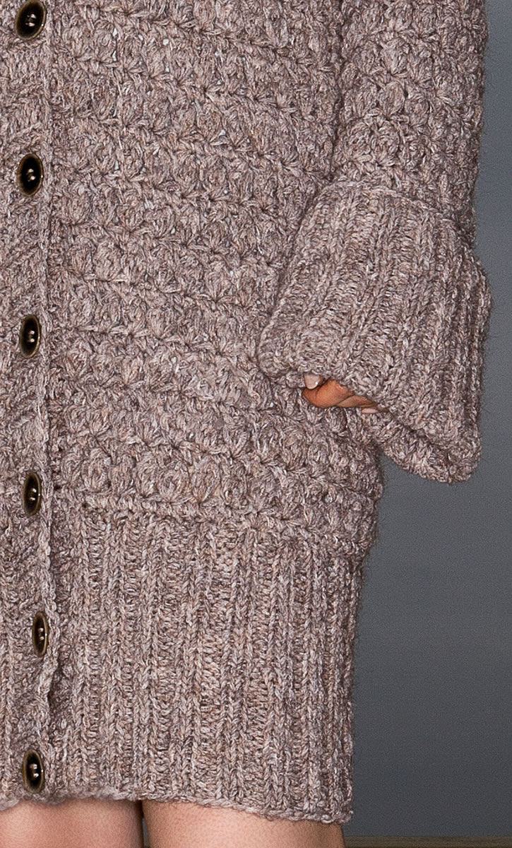Lana Grossa COAT Vela FILATI Handstrick No. 61 - Design 14 FILATI Knittin...