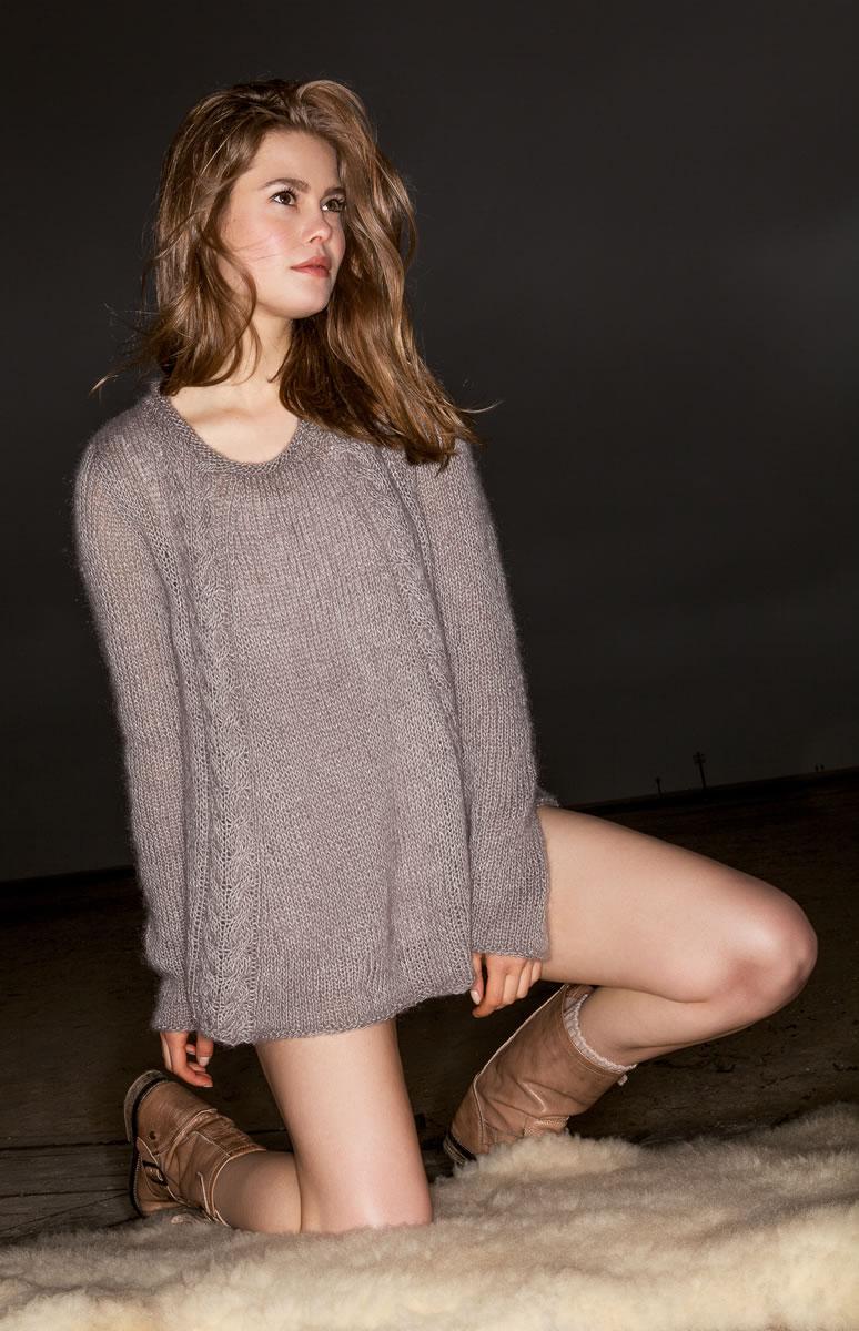 Lana grossa pullover lace seta silkhair filati handknitting no 61 english edition design - Lana grossa diva ...