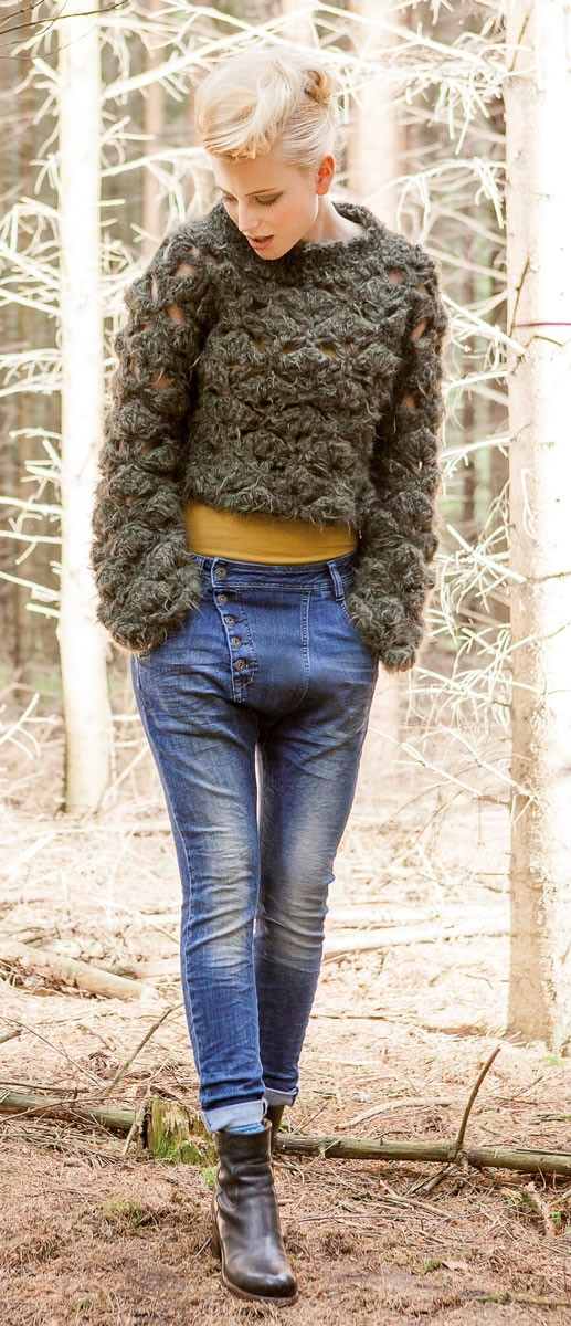 Lana Grossa PULLOVER Hairy