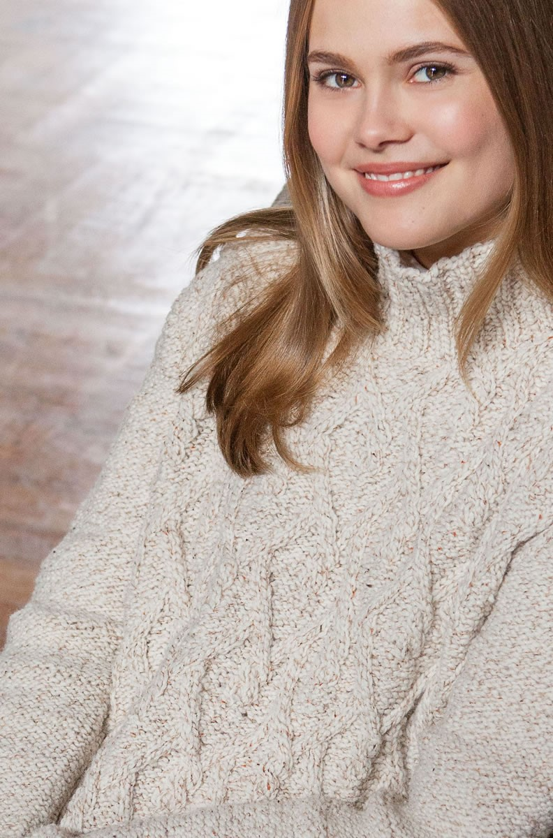 Lana Grossa PULLOVER Royal Tweed