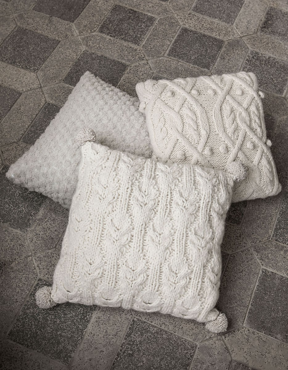 Lana Grossa PILLOW COVER Soffilo/Royal Tweed