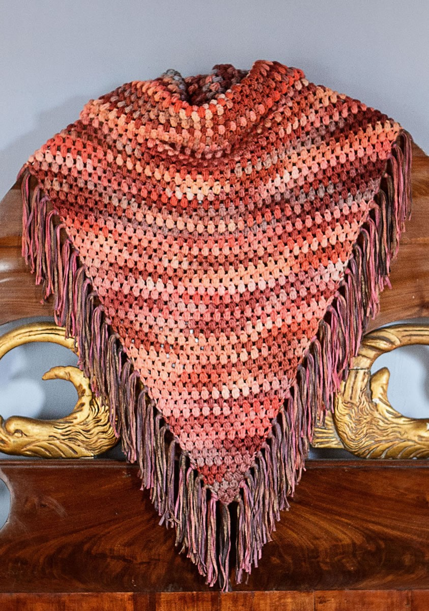 Lana Grossa SHAWL Multi/Roma degradè
