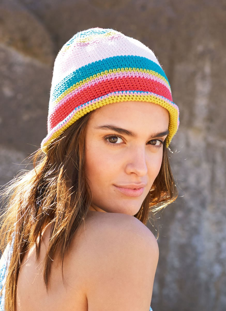 Lana Grossa CROCHETED HAT Cotone