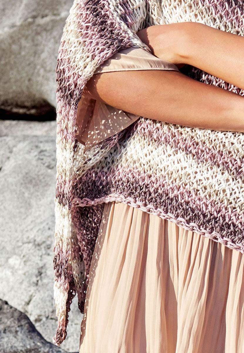 Lana Grossa PONCHO-STYLE PULLOVER Di Moda