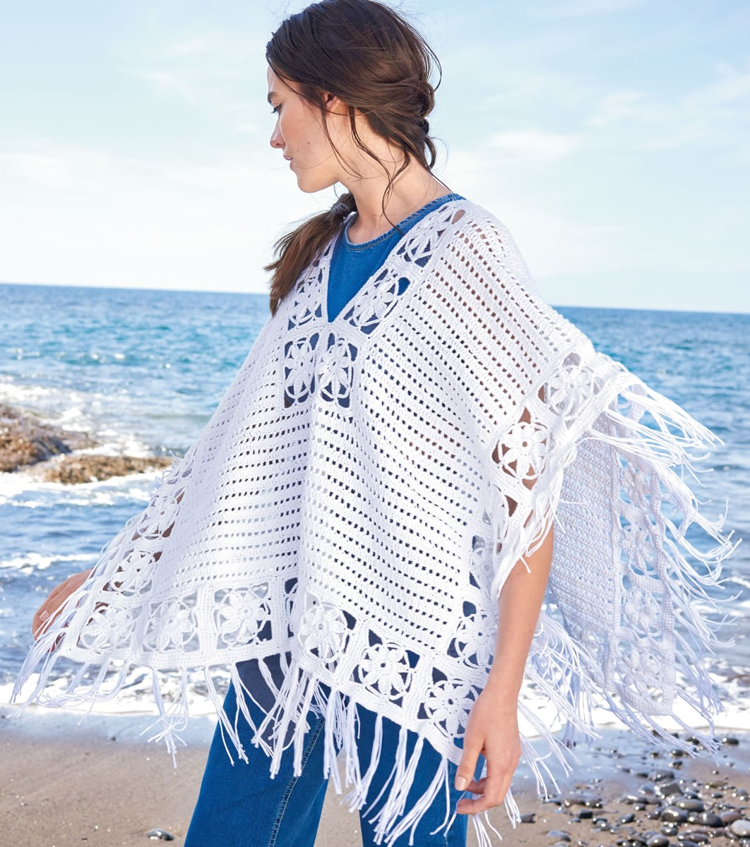 Lana Grossa CROCHETED COVER-UP Allegro Unito