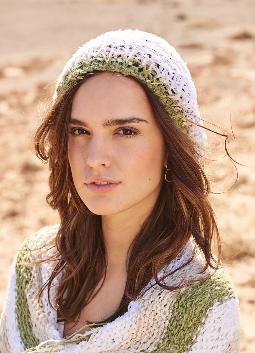 Lana Grossa HAT WITH STRIPED BRIM Fiore