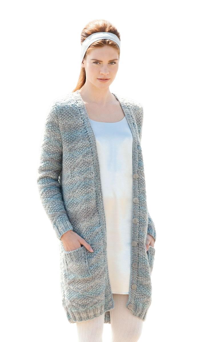 Lana Grossa COAT Alta Moda Cashmere 16 Degradé/Silkhair Paillettes