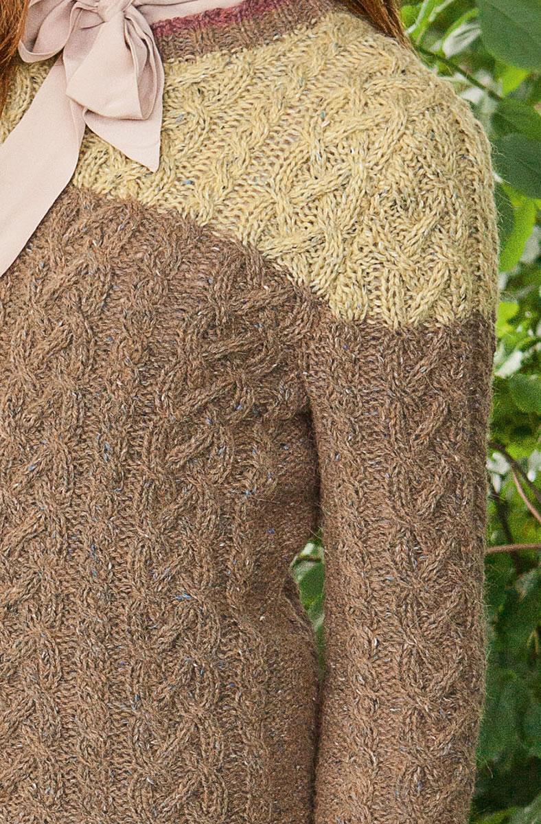 Lana Grossa PULLOVER Ascot FILATI Handstrick No. 65 - Design 27 FILATI Kn...