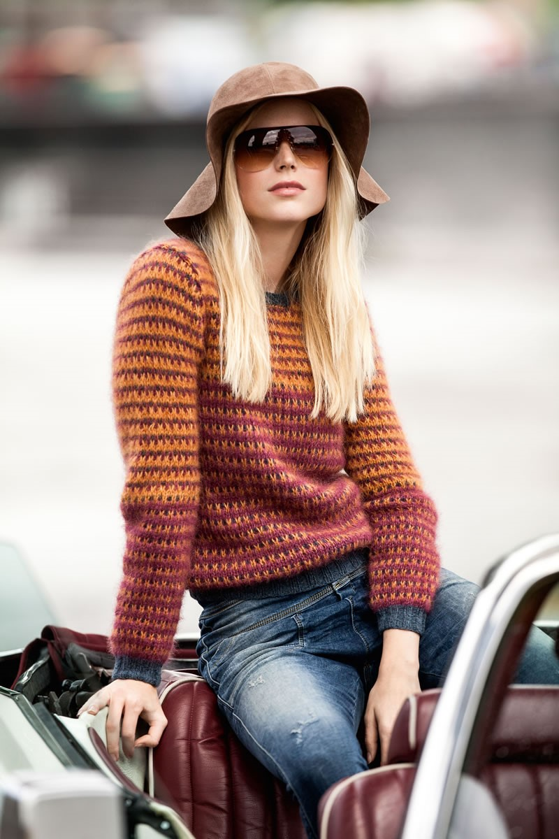 Lana Grossa PULLOVER Cashmere 16 Fine/Silkhair