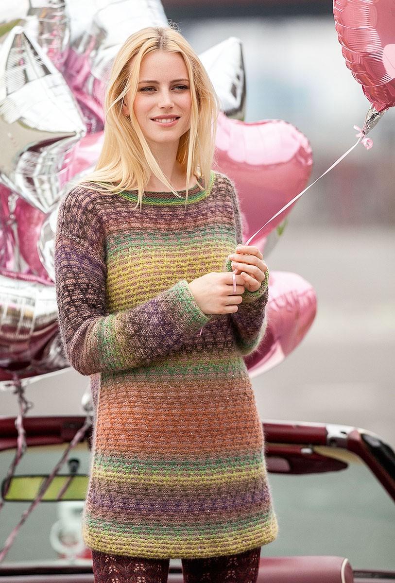 Lana Grossa PULLOVER Cashmere 16 Fine/Silkhair Paillettes