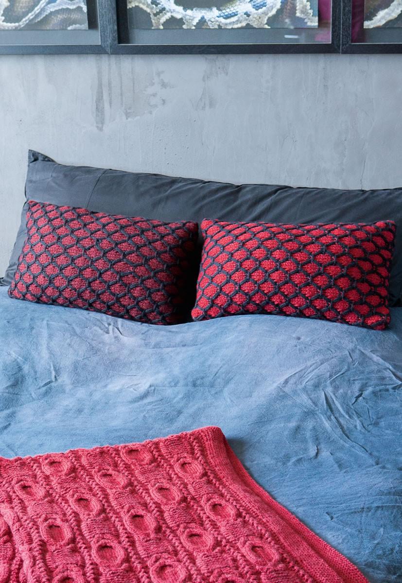 Lana Grossa Pillow Covers Alta Moda Superbaby