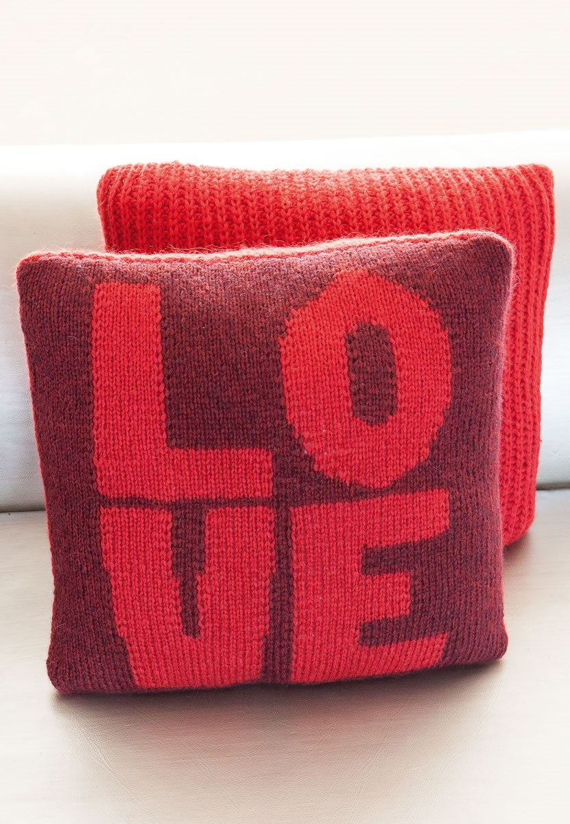 Lana Grossa PILLOW COVER Colmo