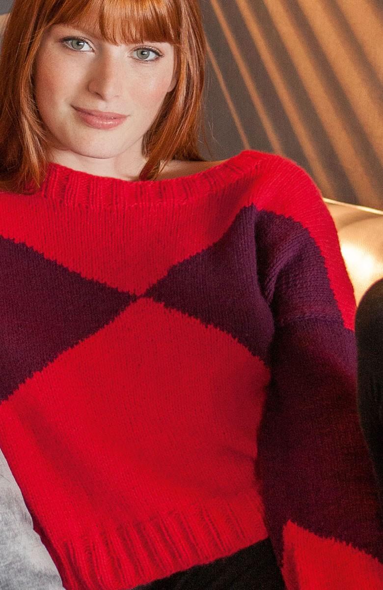 Lana Grossa PULLOVER 100% Cashmere Fine