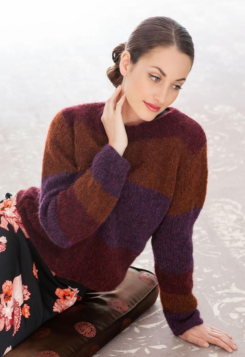Lana Grossa Pullover Garzato Fleece