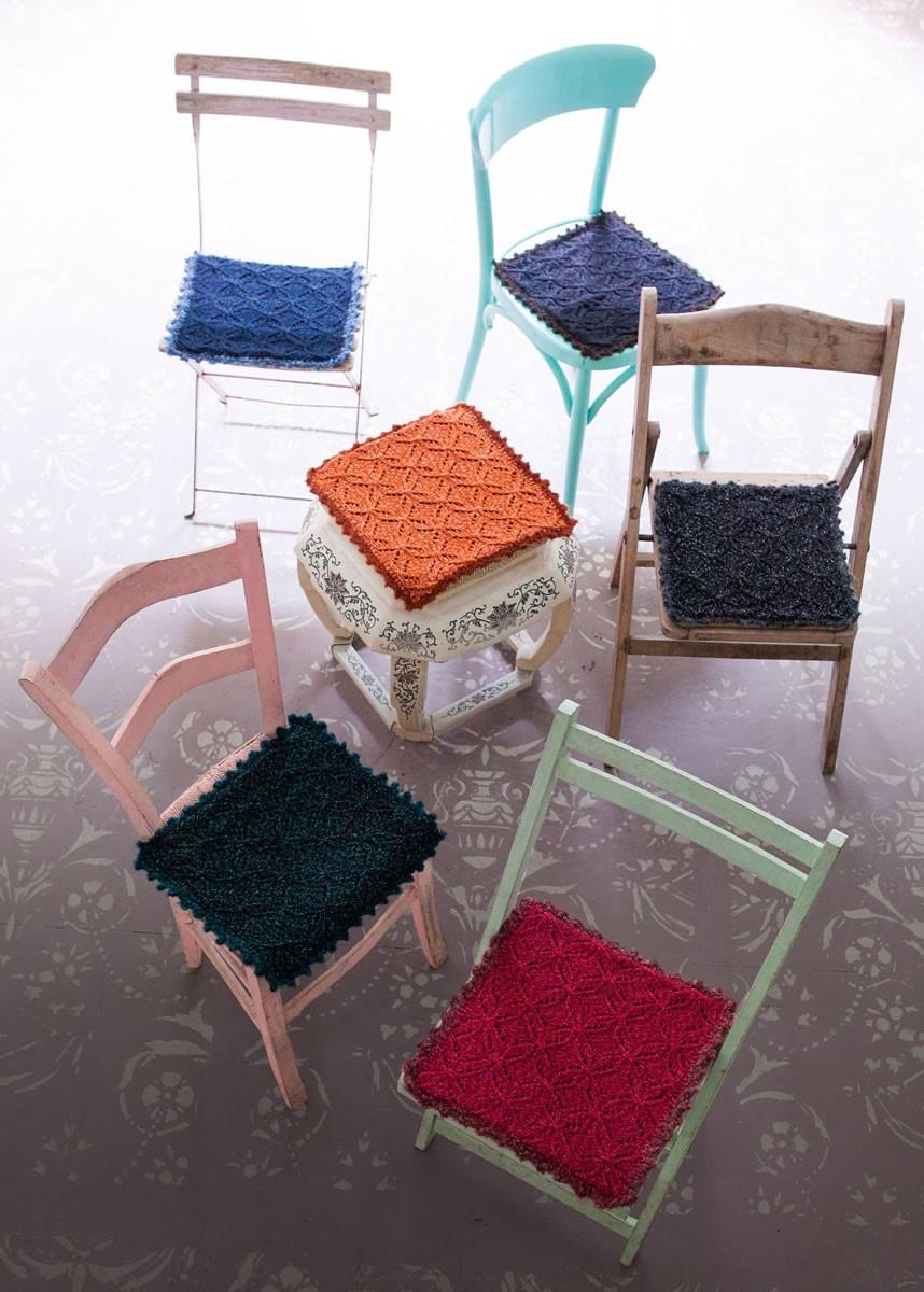 Lana Grossa SEAT CUSHIONS Stellina/Bingo Melange/Bingo/Tendenza