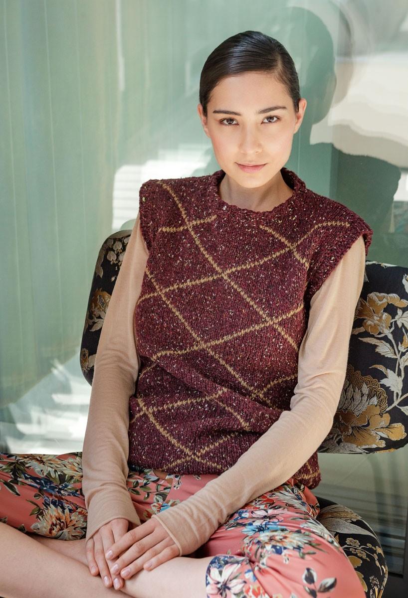 Lana Grossa SLIPOVER Royal Tweed/Alta Moda Alpaca