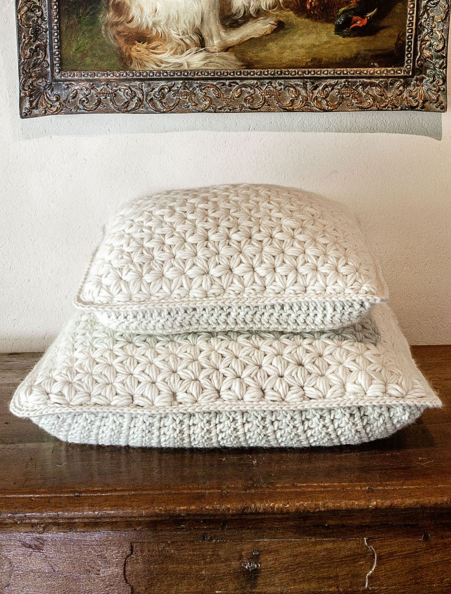 Lana Grossa PILLOW COVER Lei