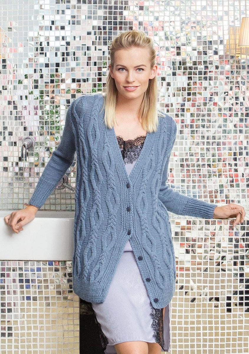 Lana Grossa JACKET Cool Wool Alpaca